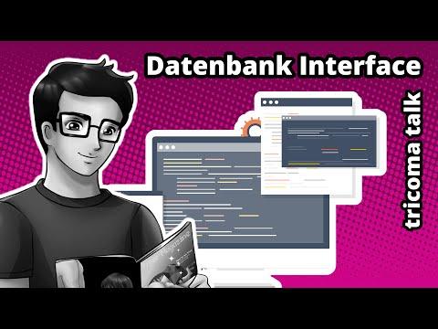 tricoma talk 010 - Vorstellung der App Datenbank Interface - Entwicklerschnittstelle/API für tricoma