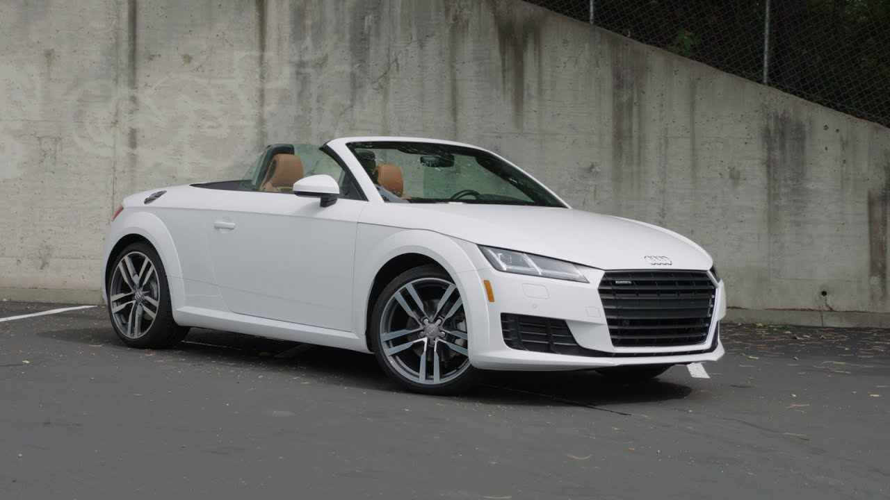2017 Audi TT Convertible Review - AutoNation - YouTube