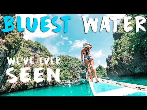 NEVER SEEN WATER THIS BLUE // EL NIDO PHILIPPINES