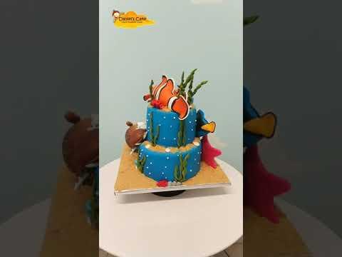 Findding To Nemo Cake