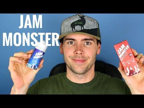 JAM MONSTER EJUICE   100ml Bottles   JAM + BUTTER + TOAST = 😍