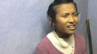 Sherpa Girl from Khandbari Singing