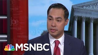 I Wont Try To Out-Gutter President Donald Trump In Campaign: Julian Castro | Morning Joe | MSNBC