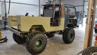 Wiegman4x4.eu #1 Volvo TGB11 C303 modified with 1HZ Toyota Turbo, power steering and coil springs.