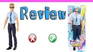 Review de Brinquedos - boneco Ken super repórter - do filme da Barbie super princesa - mattel