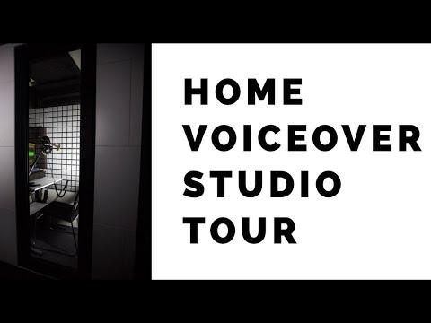 Video Home Voiceover Studio Tour