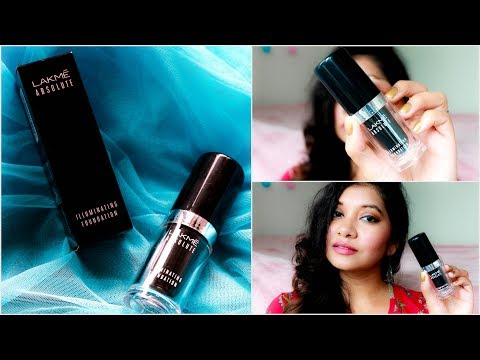 LAKME Absolute Argan Oil Serum Foundation With SPF 45 Review | Bharti Puri from YouTube · Duration:  8 minutes 4 seconds