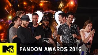 Teen Wolf Cast Wins Fandom of the Year | Fandom Awards 2016 | MTV