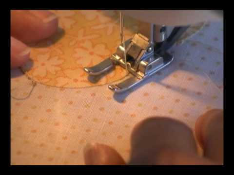 Satin Stitch Or Zig Zag Machine Applique Stitch YouTube New How To Make A Satin Stitch On A Sewing Machine