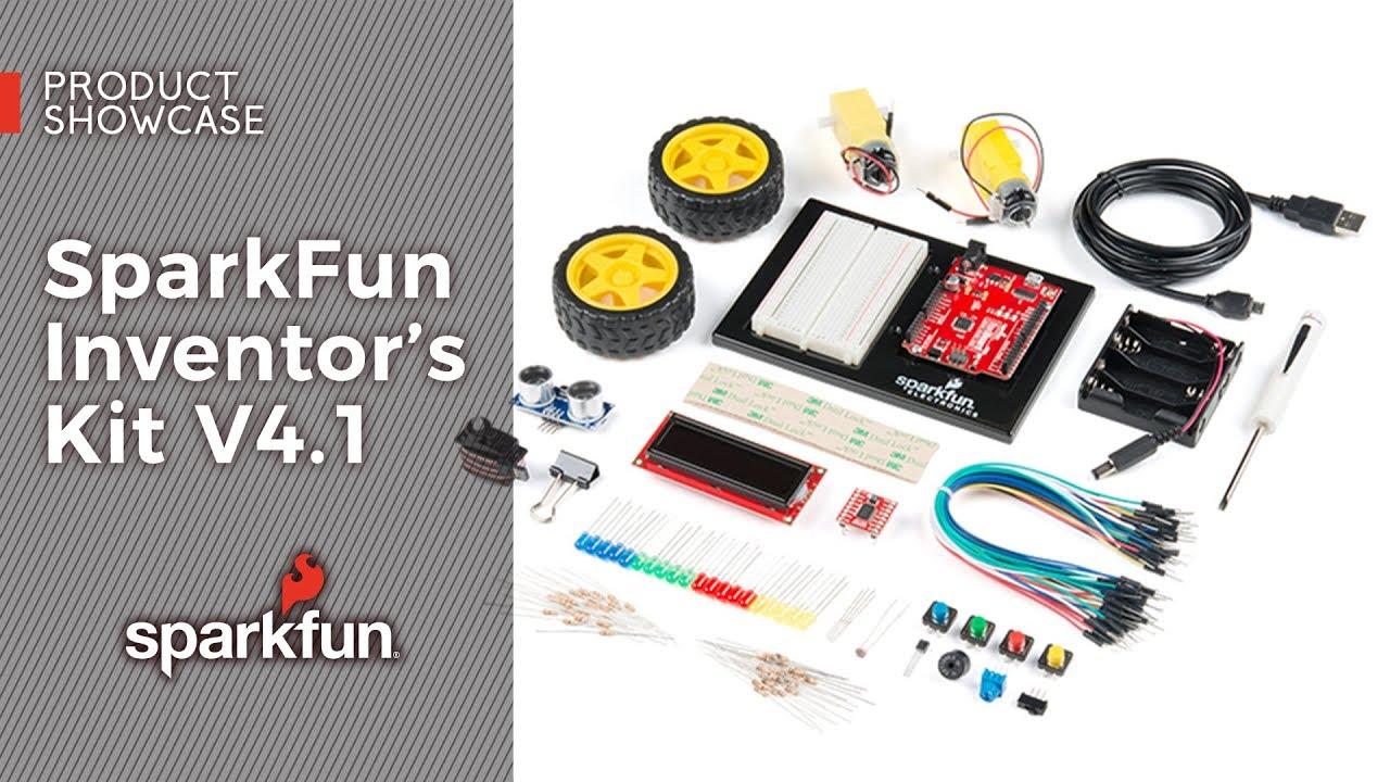 SparkFun Inventor's Kit - v4 1