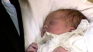 Aankondiging geboorte prinses Amalia (7 december 2003)