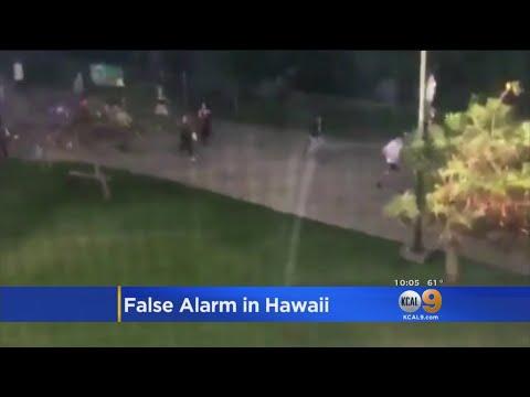 False Missile Warning Has Hawaii In Panice Mode