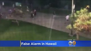 False Missile Warning Has Hawaii In Panice Mode
