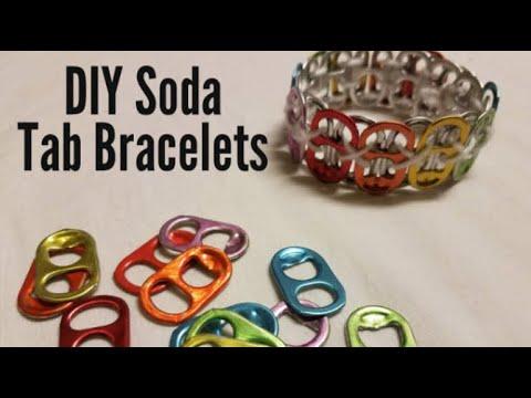How to make DIY Soda Tab Bracelets