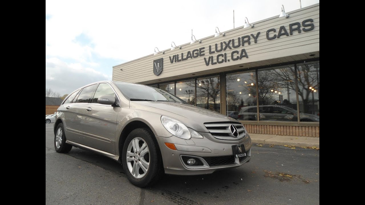 2007 mercedes benz r500 4matic in review village luxury cars toronto youtube