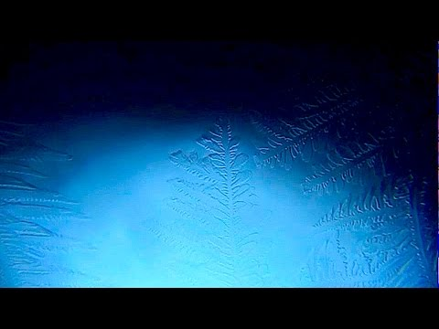 How Water Freezes: Close-Up Video of Ice Crystallization