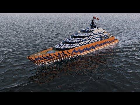 Megayacht Ventus Full Interior Download