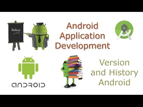 Learn Android Tutorial Application Development 2 Version of Android and History