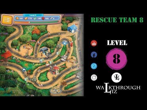 Rescue Team 8 - Level 8 Walkthrough |