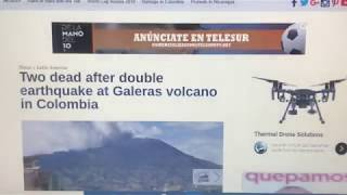 6/12~KILLER QUAKE IN SW COLOMBIA NEAR *ENORMOUS VOLCANO!