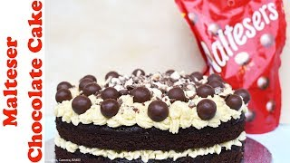 MALTESER CHOCOLATE CAKE | RECIPE