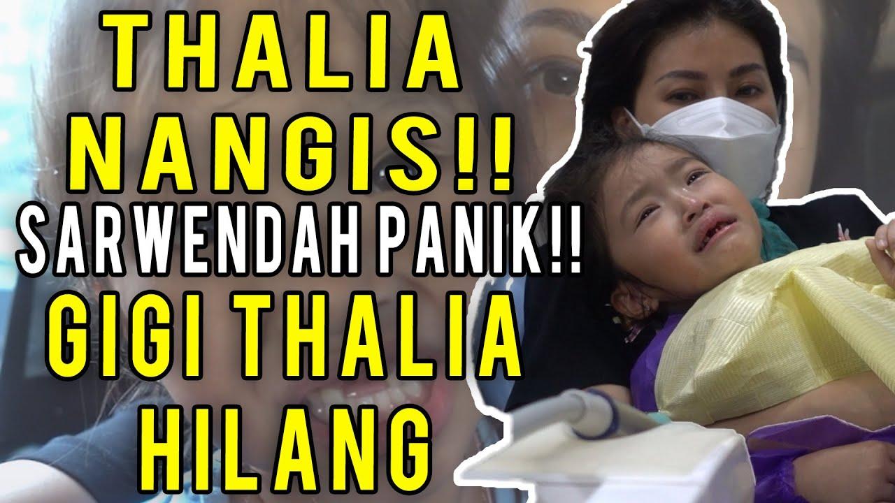 The Onsu Family - Gigi Thalia harus di cabut!! Sarwendah panik lihat proses nya