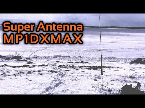 Radio Email Field Test with Super Antenna MP1DXMAX Ham Radio