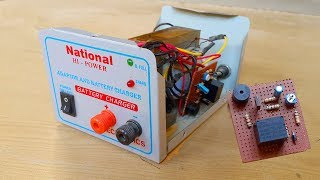 How to make an auto cut off 12v battery charger | Updating simple battery charger to auto cut off.