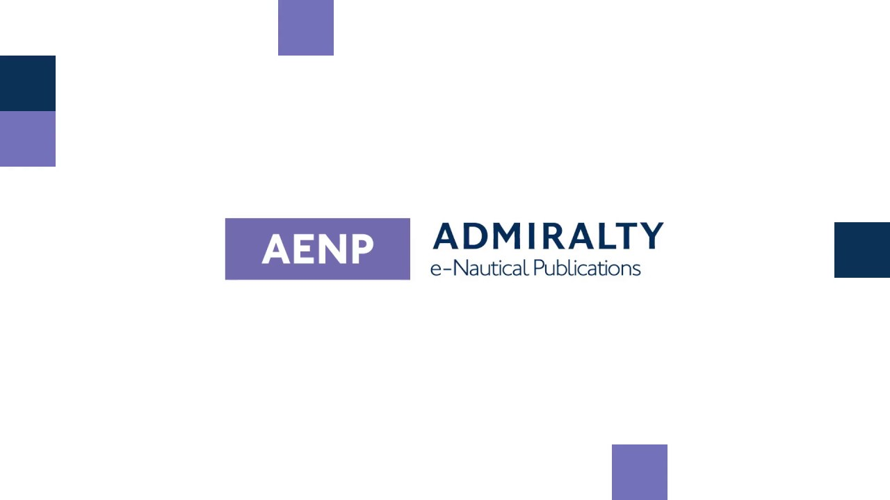 Admiralty e-NP's (Electronic Nautical Publications)