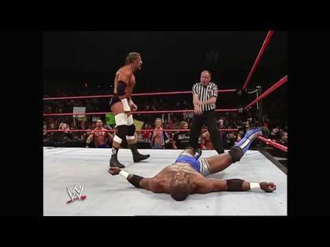 Triple H vs. Shelton Benjamin (Beat the Clock): Raw, Dec. 27, 2004