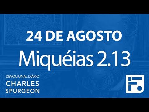 24 de agosto – Devocional Diário CHARLES SPURGEON #237