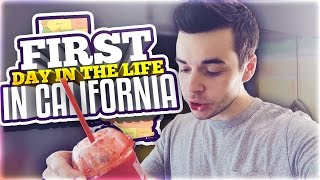 FIRST DAY IN THE LIFE IN CALIFORNIA!
