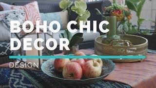 BOHO CHIC DECOR TIPS