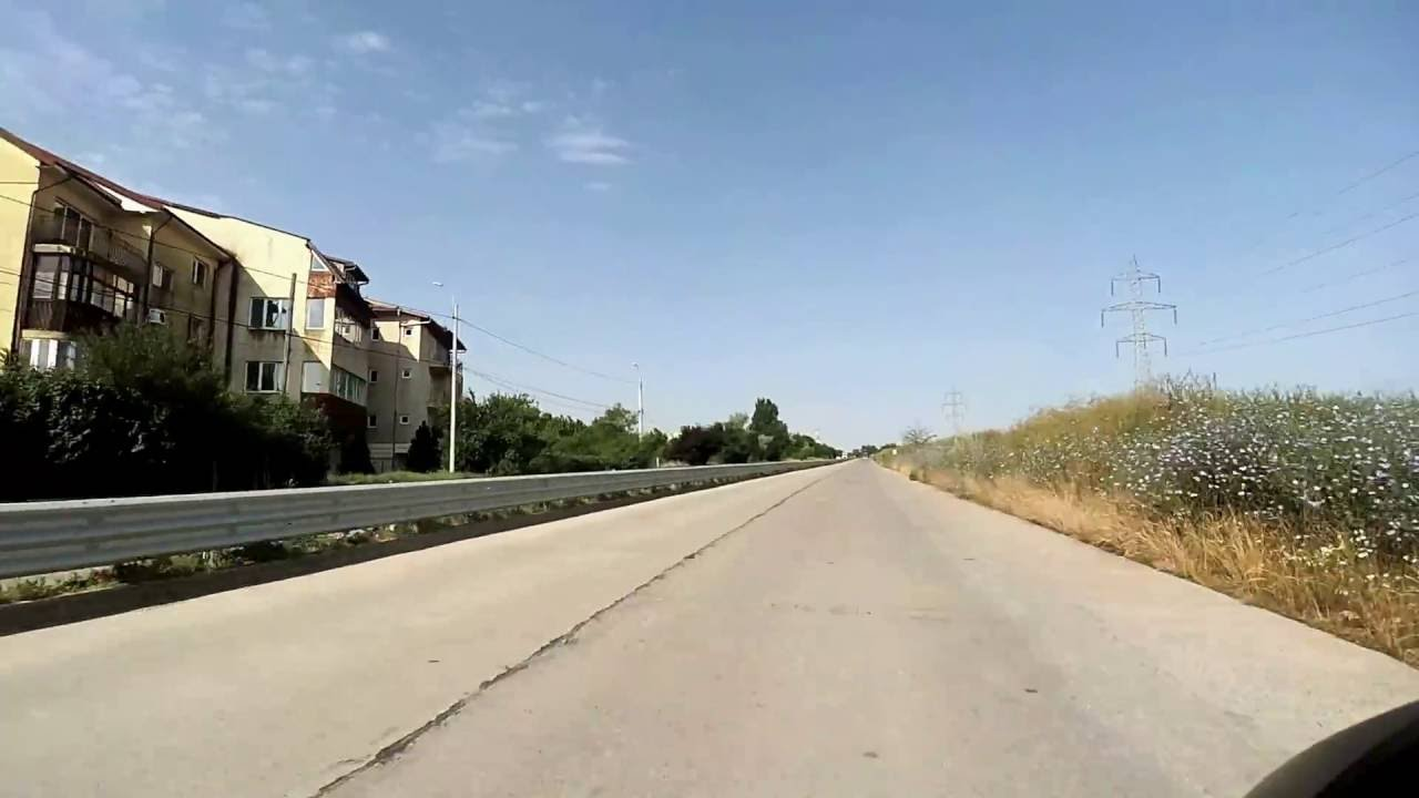 Drum Mare Nou 2 Ocolire Pod Agigea Vechi A2 A4 Port Constanta