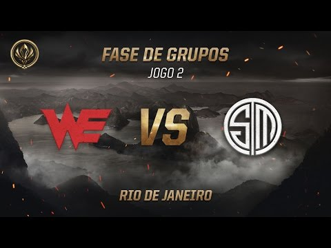 World Elite x TSM (Fase de Grupos - Jogo 6 - Dia 3) - MSI 2017