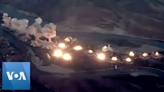 US Drops Bombs on 'Islamic State-Infested' Iraq Island