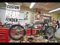Triumph hardtail rear fender
