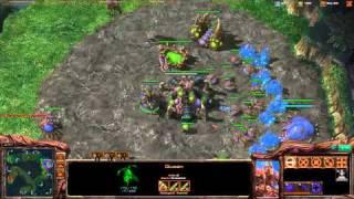 ROOTDestiny (Z) vs. FullAccess (T) (Part 1/2) - Starcraft 2 Ladder