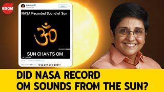 Does The Sun Make Om Sounds?
