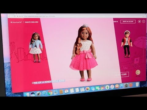 American Girl Create Your Own Doll! Creating My Mini Me!
