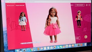 american girl custom doll