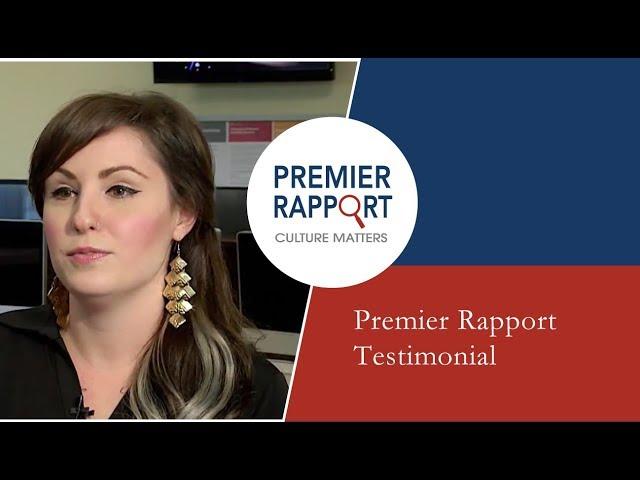 Premier Rapport Testimonial