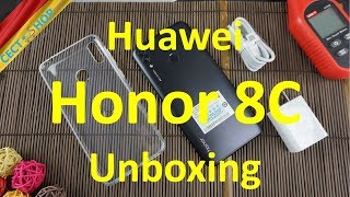 Huawei Honor 8C Unboxing | CECT-Shop.com