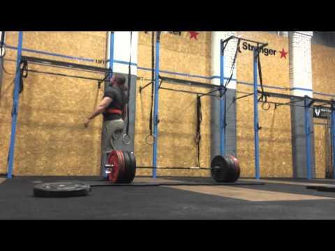 Deadlift 350kg x 3 - 771 lb !