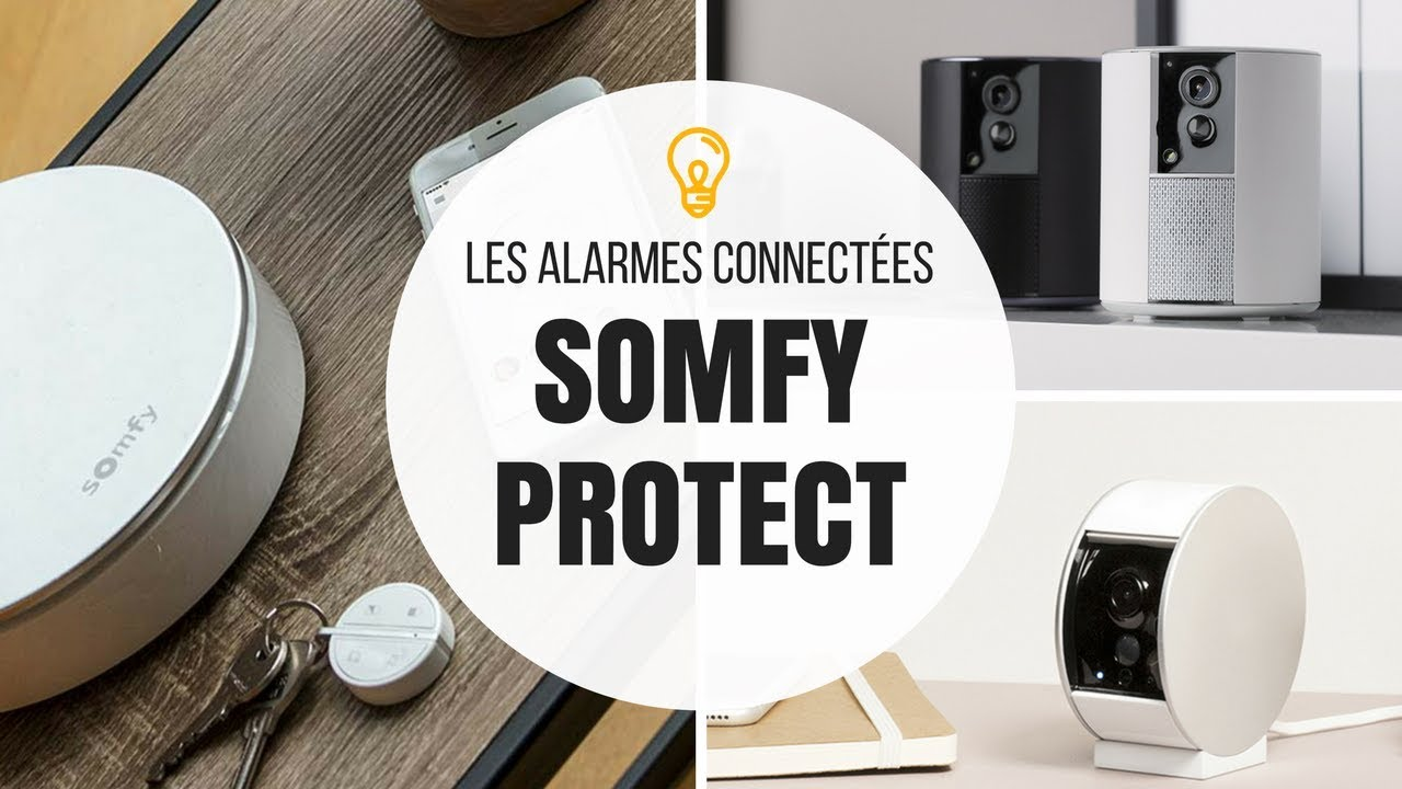 somfy protect alarme maison sans fil connect e youtube. Black Bedroom Furniture Sets. Home Design Ideas