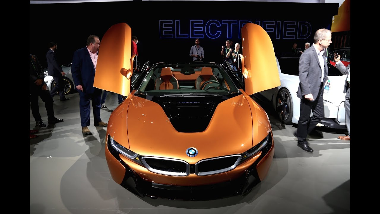 2019 Bmw I8 Roadster First Look