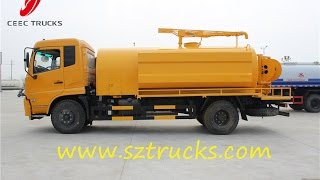 DongFeng Tianjin Multifunction High pressure jetting & suction  truck(, 2015-03-10T06:08:25.000Z)
