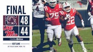 Football - Ole Miss vs. South Carolina (Highlights)
