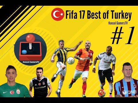 The Best of Turkey|Van Persie Farkı|FIFA 17 Menajer Kariyeri Bölüm #1