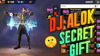 🤫 SECRET GIFT NEW CHARACTER DJ ALOK TO MY BROTHER | FULLY UPGRADED LVL 8 - GARENA FREE FIRE
